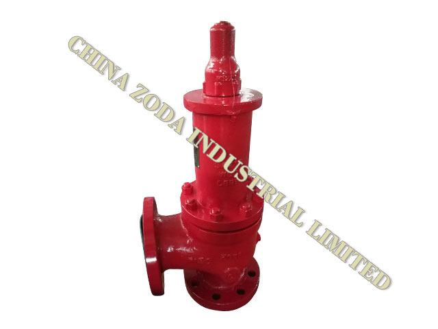 W41C Balanced Bellows Low Lift Safety Valve