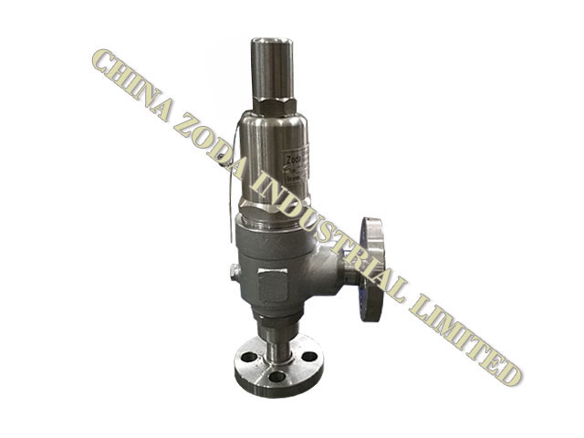 XY Type screw and flanged pressure relief Valve